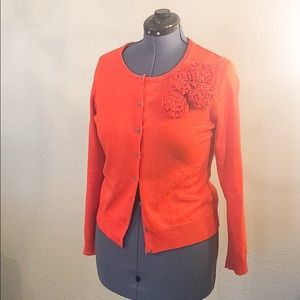 New York and Company Orange sweater